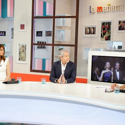 Entrevista a Antonio de Dios en La 1 de TVE