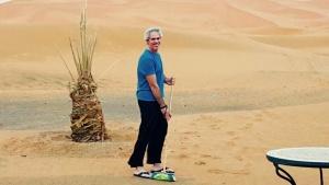 Barriendo el desierto