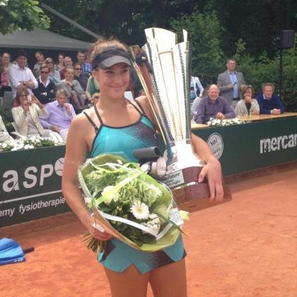 Bernarda Pera gana el torneo Future 15.000$ de Breda