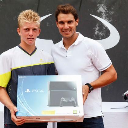 Alejandro Davidovich gana el masters del Rafa Nadal Tour en Mallorca