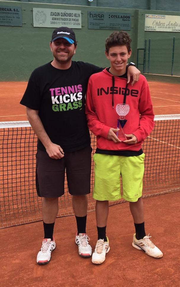 Luis Gomar campeón de España sub15