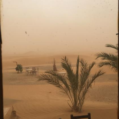 La tormenta de arena